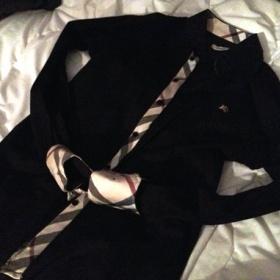 Černá burberry košile - foto č. 1