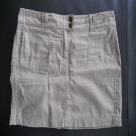 Béžová sukně H&M - foto č. 1