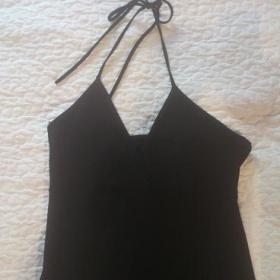 Černé šaty Carlen - foto č. 1