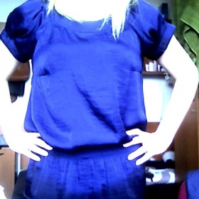 Modrá dámská halenka, Calliope - foto č. 1