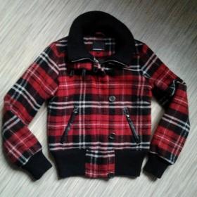 Červená bunda Kenvelo - foto č. 1