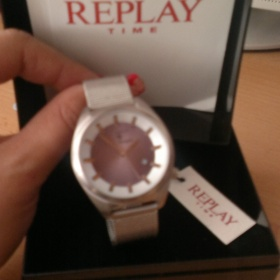 Replay st��brn� hodinky - foto �. 1