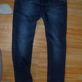 Tmavě modré džíny - foto č. 1