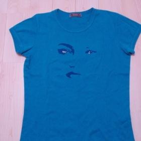 Modré tričko z Top Secret - foto č. 1