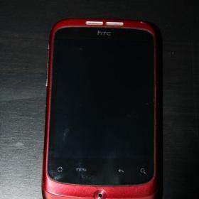 Mobilní telefon HTC Wildfire Red - foto č. 1