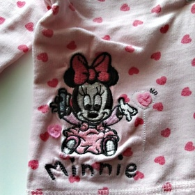 Růžová světlá mikina Minnie - foto č. 1