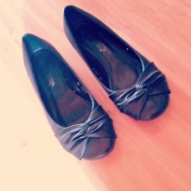 Černé balerínky - foto č. 1