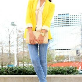 Žluté sako - foto č. 1