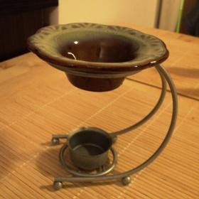 Aromalampa s kovov�m podstavcem - foto �. 1
