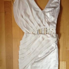 Béžové šaty Lipsy London - foto č. 1