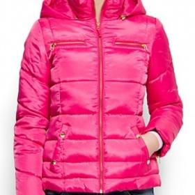 R�ov� bunda s kapuc� Mango - foto �. 1