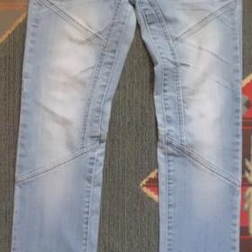 Světle modré slimky BJ Jeans - foto č. 1