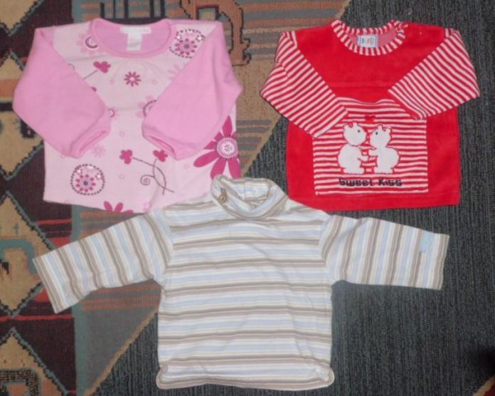 fa448fe16d3a Multikolor Balík 48ks oblečení na holku 50 - 68 (0 - 6měsíců) H M ...