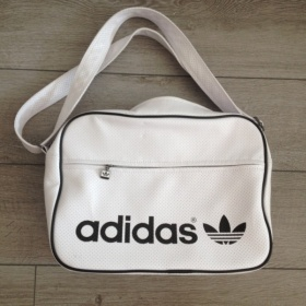 B�l� sportovn� kabelka adidas - foto �. 1