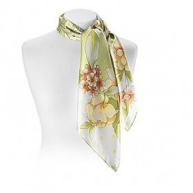 žlutá šátek Aspinal of london - foto č. 1