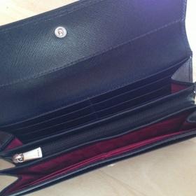 Čierna luxusná kožená  penaženka Furla - foto č. 1