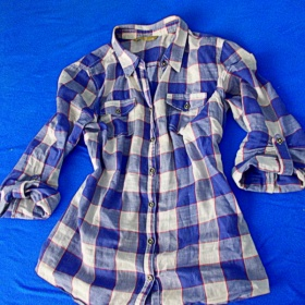 Modrá košile Totaly sale - foto č. 1