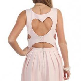 Růžové šaty Ebay - foto č. 1