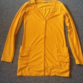 Žlutá cardigan Kik - foto č. 1