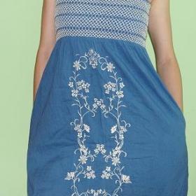 Letní modré šaty Gate - foto č. 1