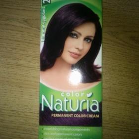 Fialová barva na vlasy Naturia - foto č. 1