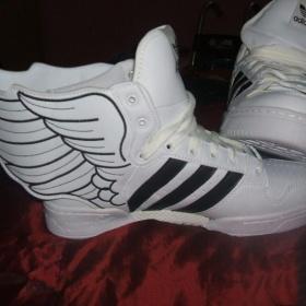 Bílo černé tenisky Adidas - foto č. 1