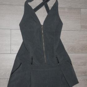 Černošedé šaty Zara - foto č. 1