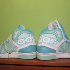 Modr� tenisky Adidas - foto �. 1