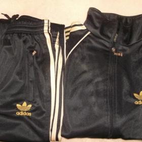 Černo zlatá souprava Adidas originals - foto č. 1
