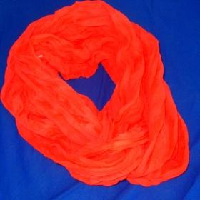 Oranžový šátek Neznačková - foto č. 1