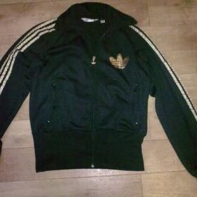 Černo zlatá mikina Adidas originals - foto č. 1