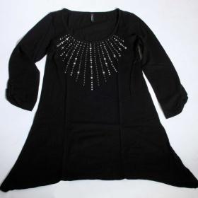 Černé tričko Fishbone - foto č. 1