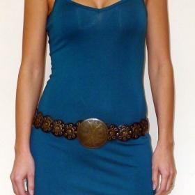 Tyrkysové tílkové šaty Joe Browns - foto č. 1