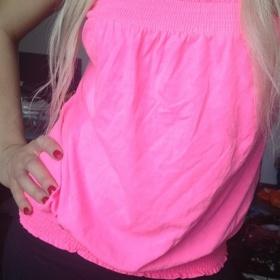 Růžové tričko Terranova - foto č. 1