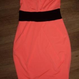Meruňkové šaty Tally Weijl - foto č. 1