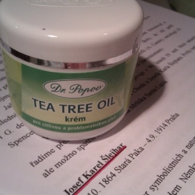 Tea tree kr�m Dr. Popov - foto �. 1