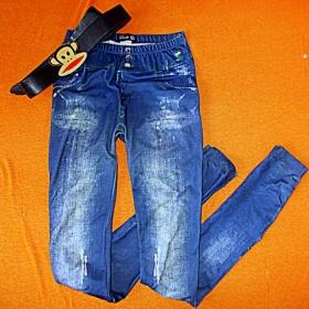 Modré kalhoty Takko - foto č. 1
