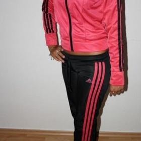 Černo růžová sportovní souprava Adidas originals - foto č. 1
