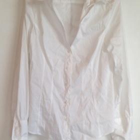 Bílá košile Benetton - foto č. 1