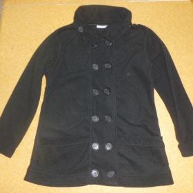 Černý  kabátek/mikina Yessica - foto č. 1