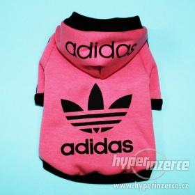 Růžový  psí obleček Adidas - foto č. 1