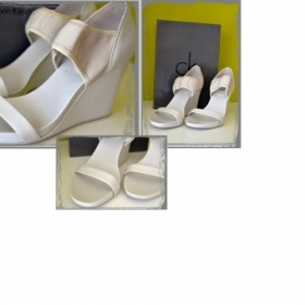 Bílé  boty Calvin Klein - foto č. 1