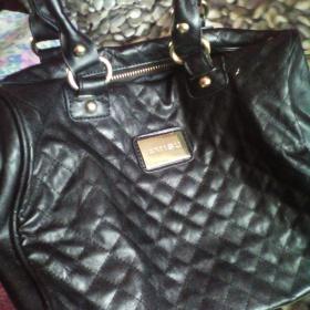 Černá prošívaná kabelka Amisu - foto č. 1
