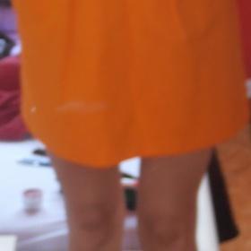 Oranžové šaty Reserved. - foto č. 1