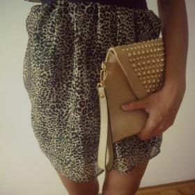 Tygrované šaty H&M - foto č. 1