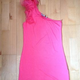 Růžové šaty New look - foto č. 1