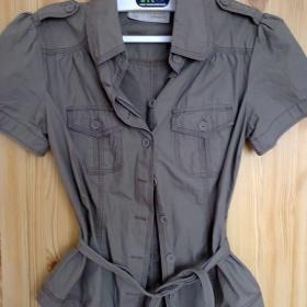 Zelená košile Clockhouse - foto č. 1