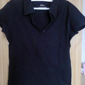 Černé tričko S.Oliver - foto č. 1