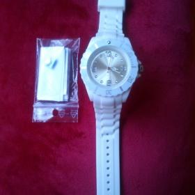 Bílé silikonové hodinky neznačková - foto č. 1
