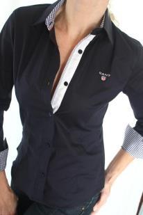 fbc1504d89e Černá dámská košile GANT - Bazar Omlazení.cz